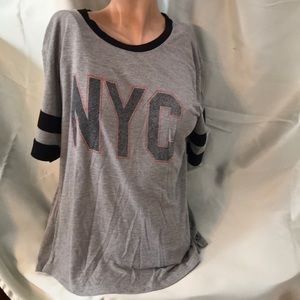 Stranded short sleeve shirt